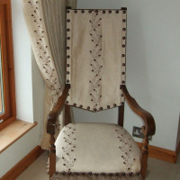 chair covers, wigtown