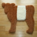 Red Belted Galloway Calf rug