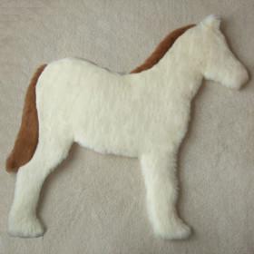 White foal rug