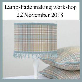 Professional Lampshade making workshop