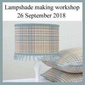 Book festival Lampshade making workshop